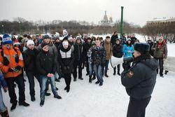 В Петербурге вновь не дают провести «Снежную забаву»