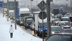 Москву засыпало