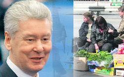 Мэр не доволен резервациями и «дикими рынками» в Новой Москве