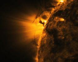 Опубликованы сенсационные съемки торнадо на Солнце!