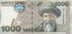 кыргызский сом