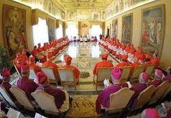Швейцарские гвардейцы не дали проникнуть самозванцу на совет кардиналов