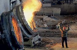 В Украине снижается производство стали