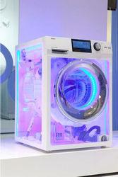 прозрачная стиральная машина