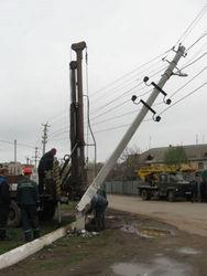 В Беларуси водитель сбил столб, оставив 4 деревни без света