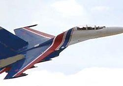 Су-27УБ выполнял плановый полет и от курса не отклонялся