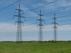 поставки электроэнергии