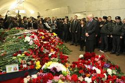 Сегодня Россия вспоминает погибших в терактах в метро Москвы