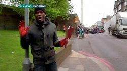 Майкл Адеболаджо после убийства солдата в Лондоне