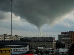 В соцсетях появились сведения о смерче в Обнинске