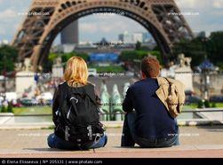 Туристы любят Францию
