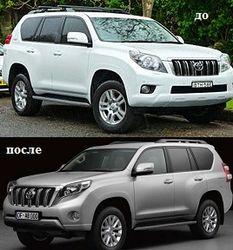 Toyota показала фото обновленного Prado