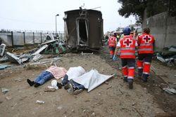 Железнодорожная катастрофа в Испании