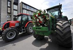 Эхо экономии: аграрии блокировали Брюссель тракторами