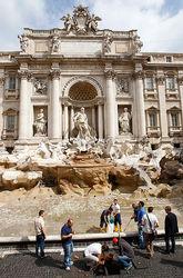 Римский фонтан Треви