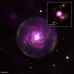 На примере туманности Abell 30 астрономы увидели, что будет с Солнцем