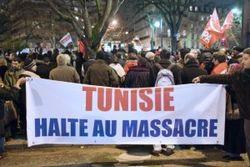Жителей Туниса на беспорядки вдохновили белорусские и украинские акции протеста