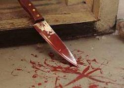 В центре Киева мужчина отстреливался, но его всё равно зарезали