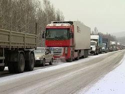 Убытки дальнобойщиков на трассе «Россия» исчисляются миллионами