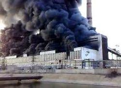 Возгорание угольной пыли – причина аварии на Углегорской ТЭС