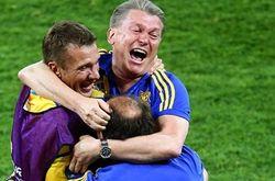 Украина – Швеция: статистика матча