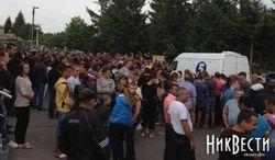 Ситуация в райцентре Николаевщины взрывоопасная– визит губернатора не помог
