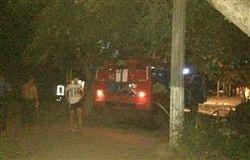 Пожарные на месте ЧП В Чопе