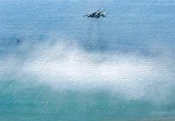 В Испании разбился военный самолет, пилоты погибли