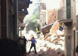 В Италии взрыв газа разрушил два дома, в которых жили туристы