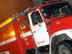 В отделе полиции «Басмонное» горели мебель и оргтехника