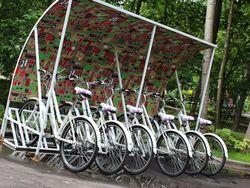 В Москве открылись городские пункты проката велосипедов