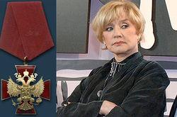 Вера Алентова получила от Путина второй орден