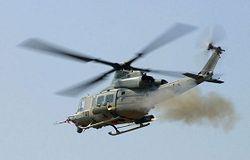 обстрел вертолета