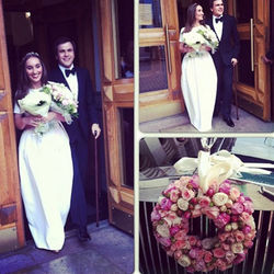 Первые фото со свадьбы Насти Винокур