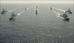 учения ВМС близ Сирии
