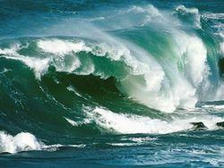 волна на море