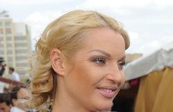 Платье Волочковой назвали обыкновенной портьерой