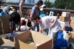 волонтеры в Крымске