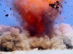 взрыв бомбы