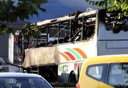 взрыв автобуса в Болгарии