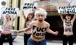 дуры из FEMEN