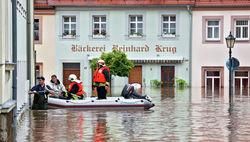 Германия под водой