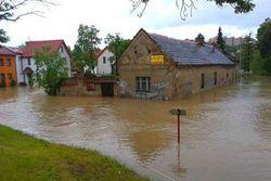 Чехия под водой