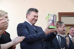 Янукович одобрил украинскую солому в качестве альтернативы российскому газу
