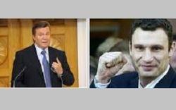 Опрос GfK Ukraine: Кличко делает рывок и догоняет Януковича