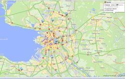 Яндекс Пробки: дороги Санкт-Петербурга и рекомендации для инвесторов