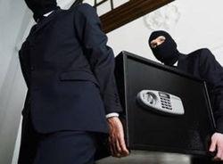 В  Москве водителя-экспедитора ограбили,  похитив сейф с  1 млн. рублей