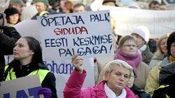 забастовка учителей