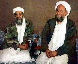 Айман аз-Завахири и Усама бен Ладен
