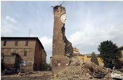 Разрушения после землетрясения в Италии